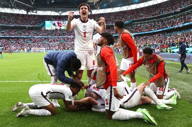 Inglaterra contra Alemania, por la Eurocopa