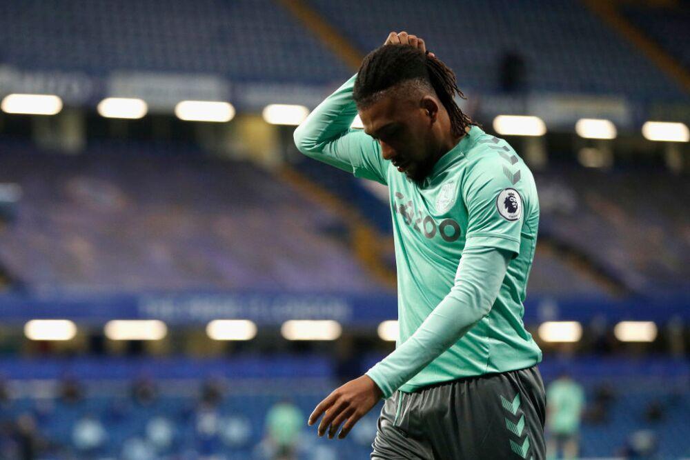 Alex Iwobi, jugador de Everton