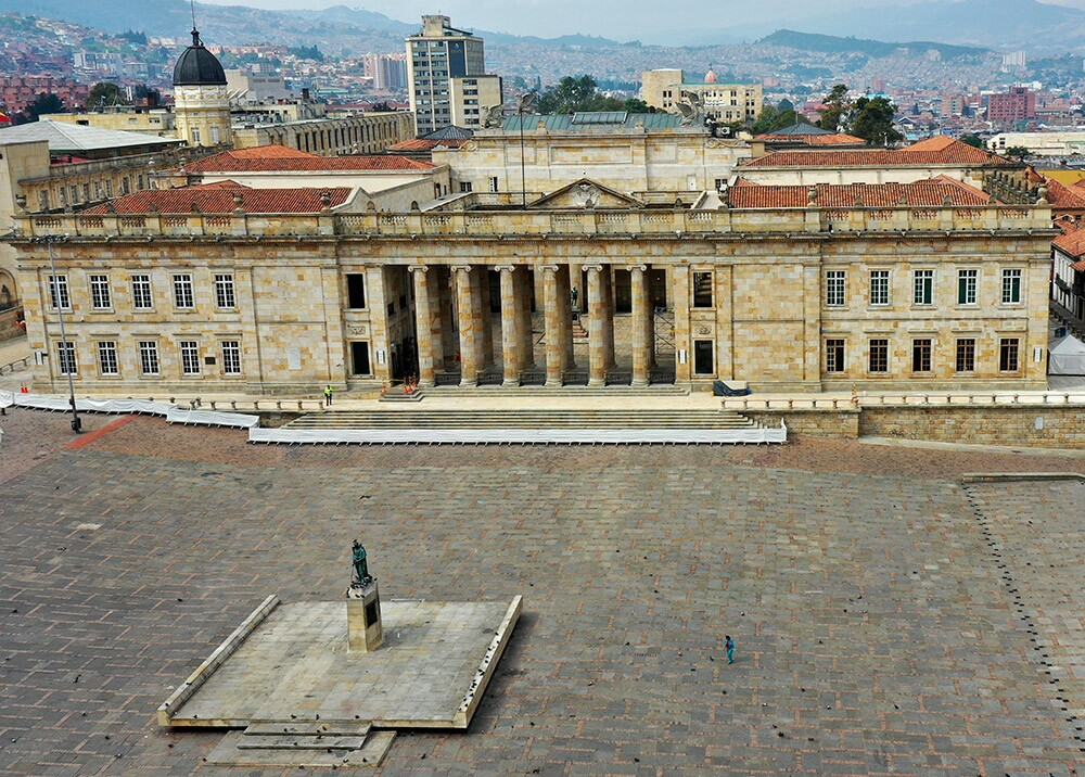 362199_Congreso de la República - crisis del coronavirus // Foto: AFP