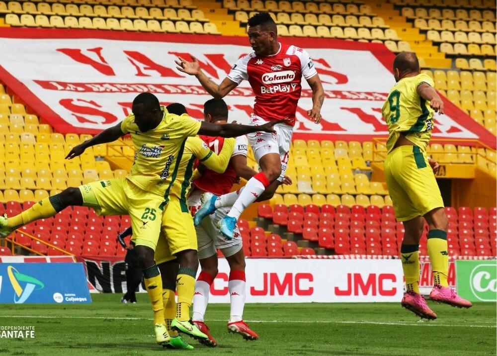 Santa Fe vs Bucaramanga Foto SantaFe.jpg