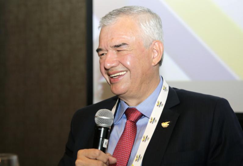 Ciro Solano, nuevo presidente del Comité Olímpico Colombiano.