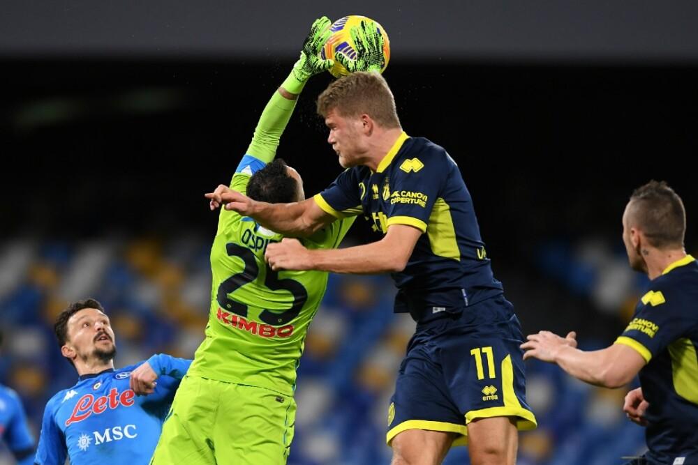 David Ospina Nápoles vs Parma