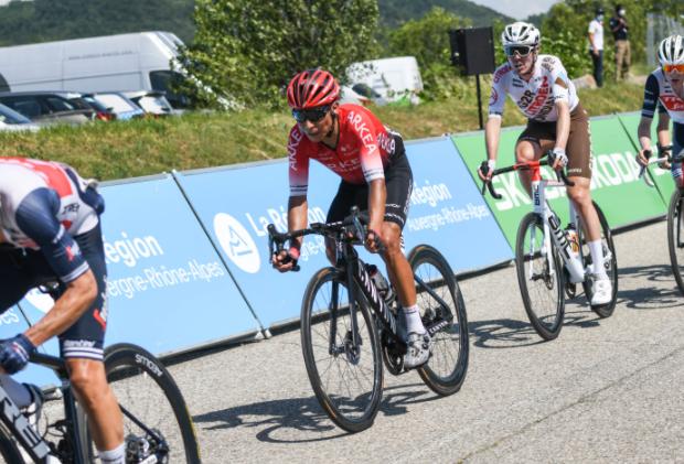Nairo Quintana llega a las jornadas de alta montaña del Critérium del Dauphiné en el puesto 24.