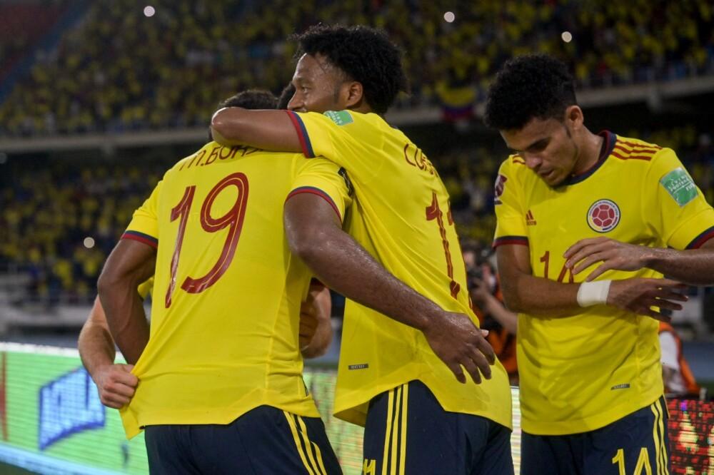 Jugadores de la Selección Colombia..jpeg