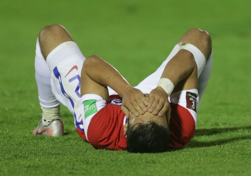 Chile tras caer derrotada ante Uruguay - AFP.jpeg