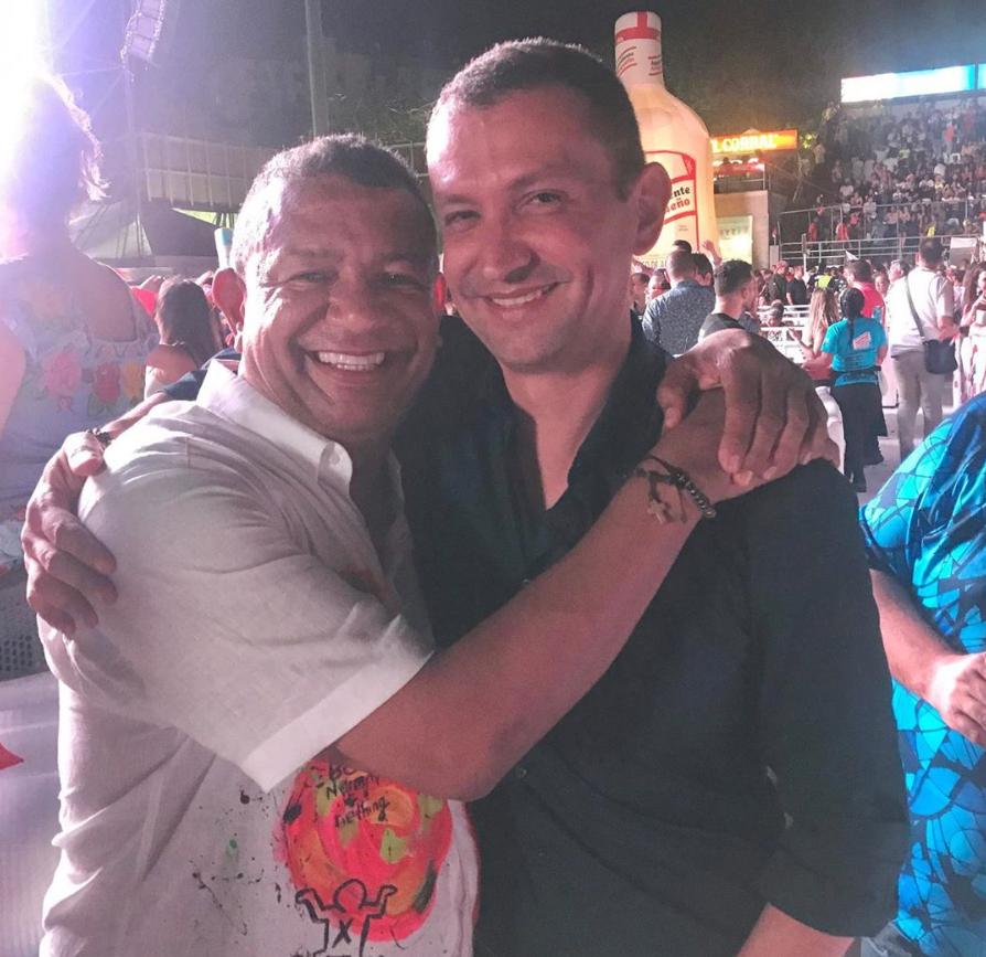 356063_BLU Radio // Emilio Tapia en los Carnavales de Barranquilla // Foto: Instagram Álvaro Álvarez