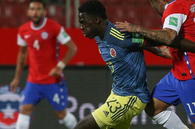 Dávinson Sánchez Selección Colombia