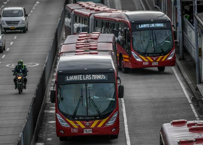 361601_TransMilenio. Foto: AFP
