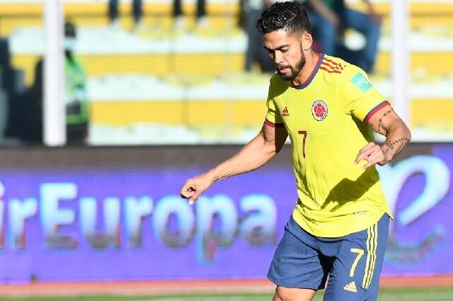 Andrés 'Rifle' Andrade, con la Selección Colombia