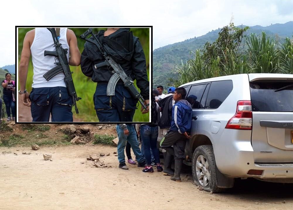 347278_Disidencias de FARC en la masacre de Tacueyó, Cauca // Foto: AFP y Suministrada