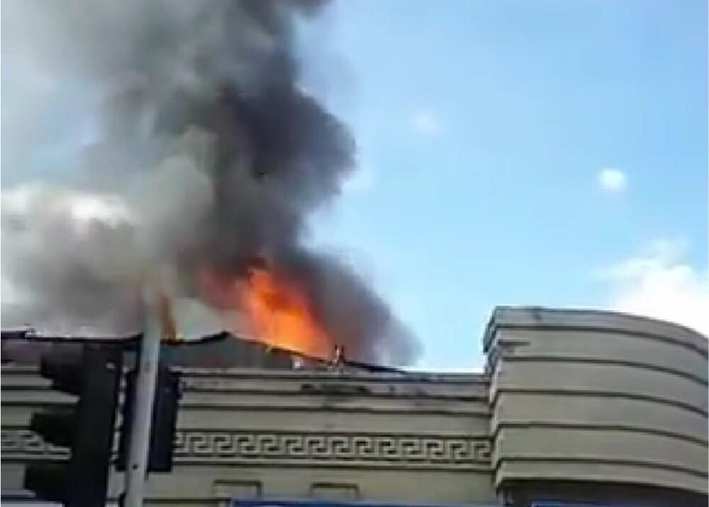 371614_Incendio en Pereira // Foto: Captura de video