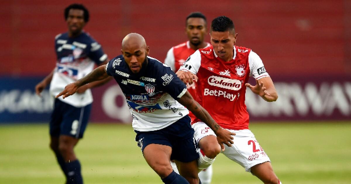 Junior no hizo la tarea, empató 0-0 con Santa Fe y quedó eliminado de la Copa Libertadores