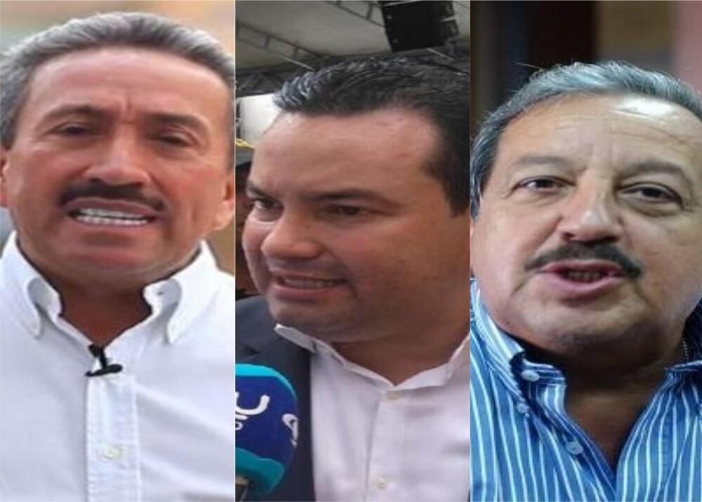 350494_BLU Radio. Hugo Aguilar, Didier Tavera y Héctor Moreno / Fotos: suministradas