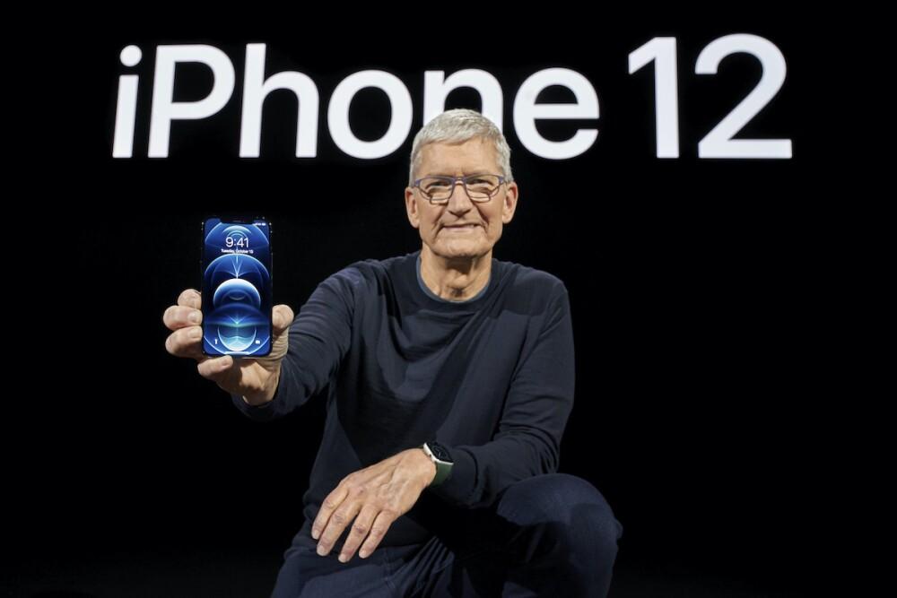 Presentación Iphone 12 / AFP