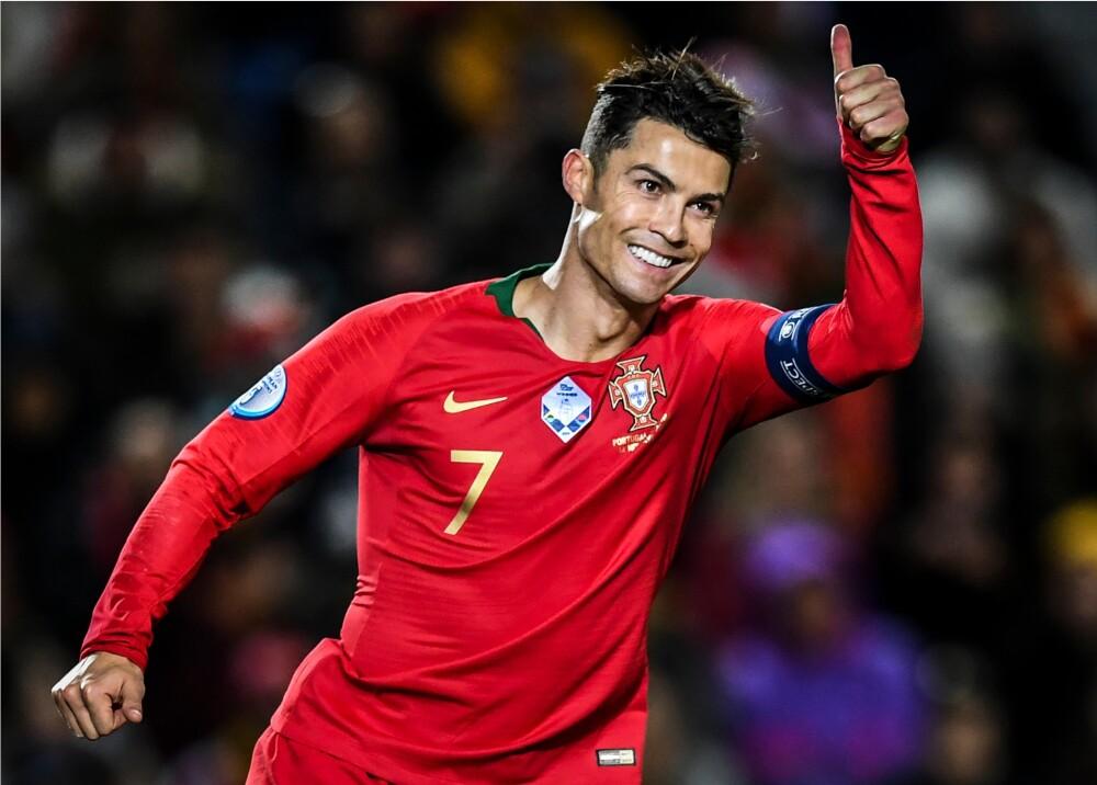 348347_BLU Radio. Cristiano Ronaldo con Portugal // Foto: AFP