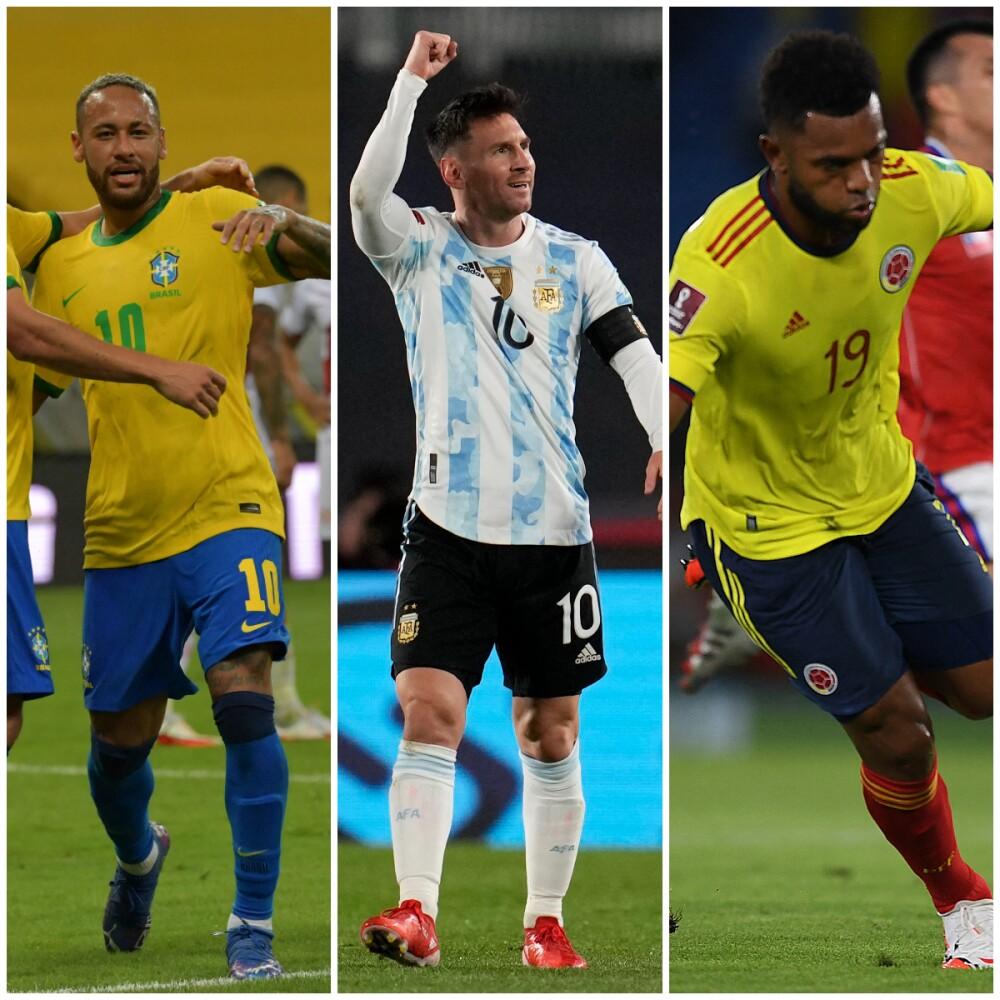 Neymar, Messi, Borja