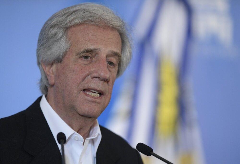 Tabaré Vázquez / AFP