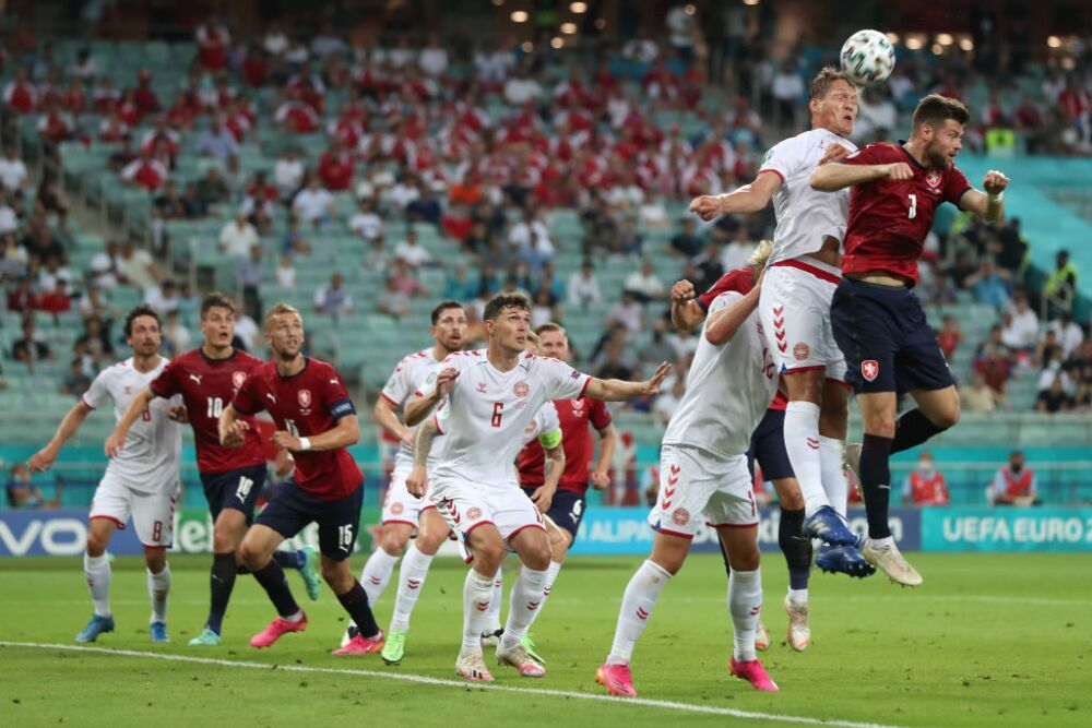 República Checa-Dinamarca-eurocopa