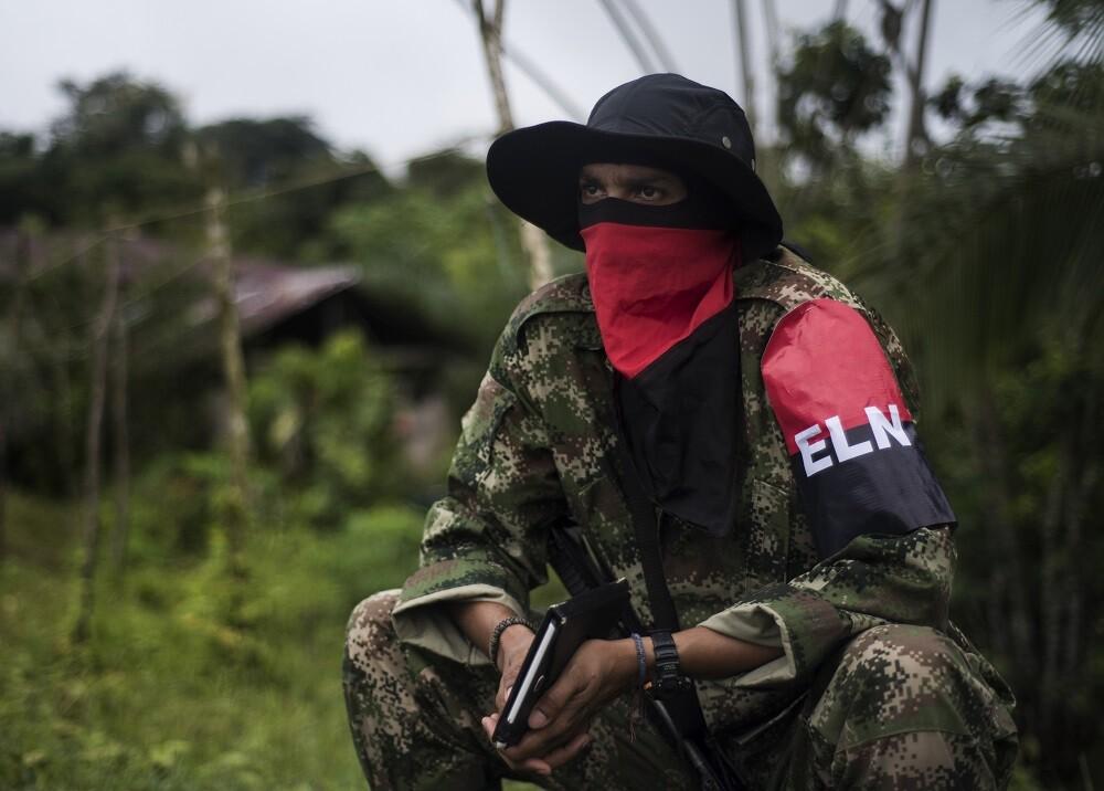 340595_Blu Radio. Alias Uriel. Foto: Luis Robayo/ AFP