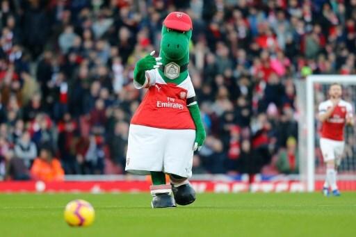 Gunnersaurus, mascota Arsenal