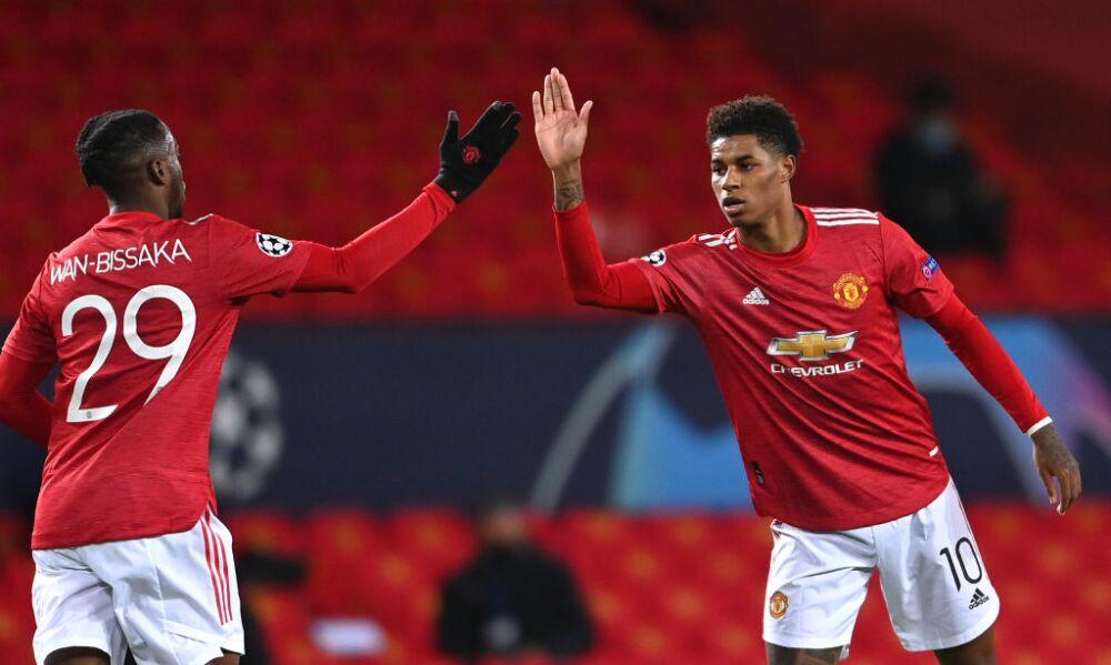 Marcus Rashford Manchester United v Paris Saint-Germain