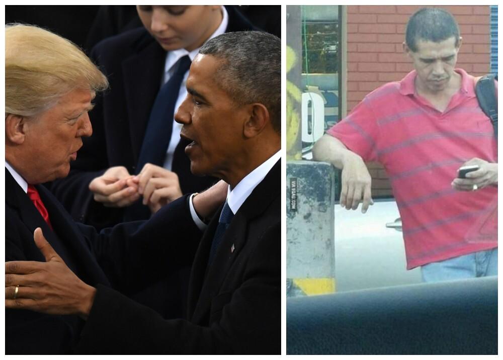 276901_Memes posesión Donald Trump / Foto: AFP - Twitter