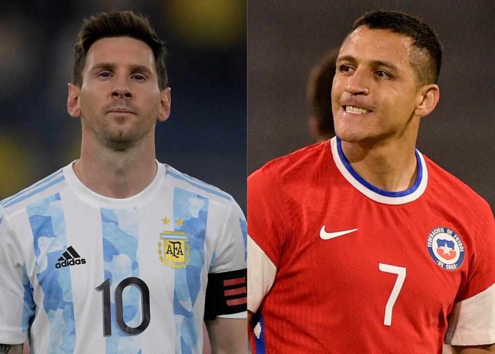 Selecciones de Argentina y Chile Foto AFP.jpg