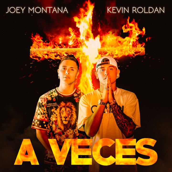 Joey Montana y Kevin Roldán