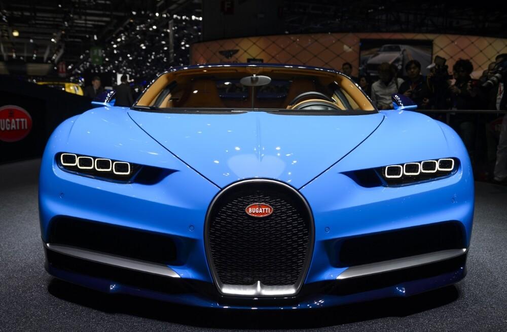 280808_BLU Radio. Bugatti Chiron/ Foto: AFP