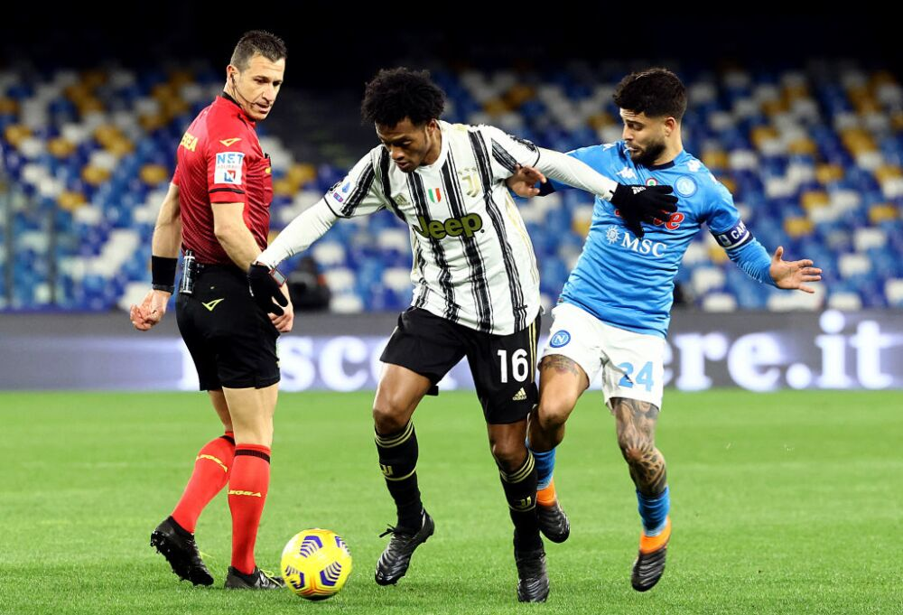 Juan Guillermo Cuadrado, Juventus vs Napoli