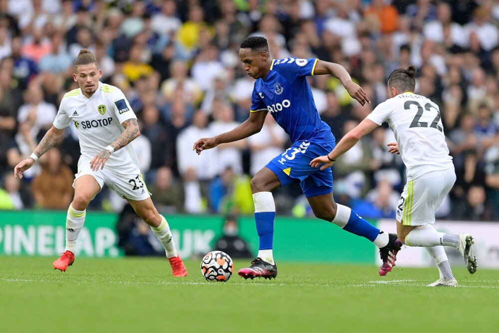 Yerry Mina vs Leeds