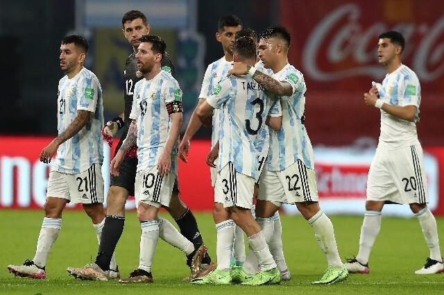 Baja en la Selección de Argentina