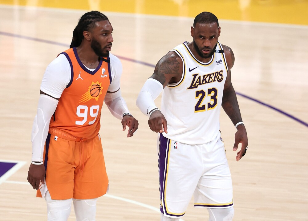 Lakers vs Suns Foto AFP.jpg