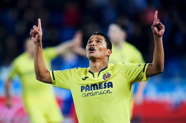 334773_Carlos Bacca, delantero del Villareal.