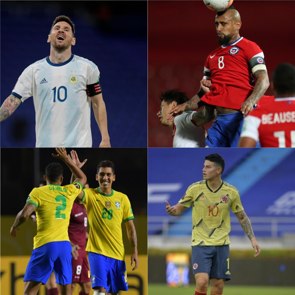 Eliminatorias Catar 2022 / Fotos AFP.jpg