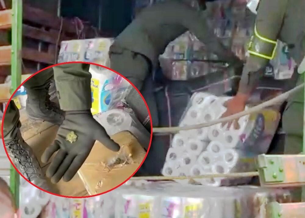 cargamento de marihuana oculta en papel higiénico.jpg
