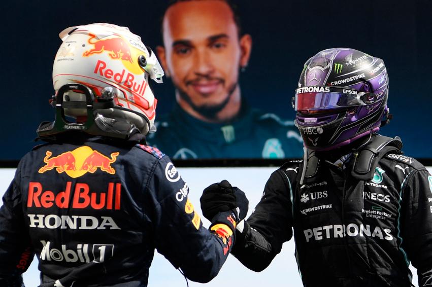 Lewis Hamilton venció a Max Verstappen en el Gran Premio de Portugal de Fórmula 1.
