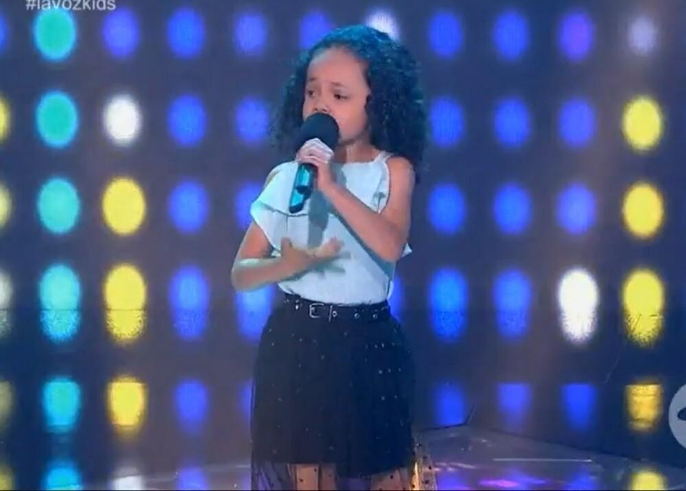 La Voz Kids Foto captura de video.