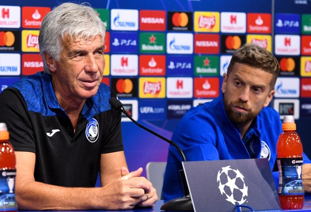 Gian Piero Gasperini y Alejandro 'Papu' Gómez