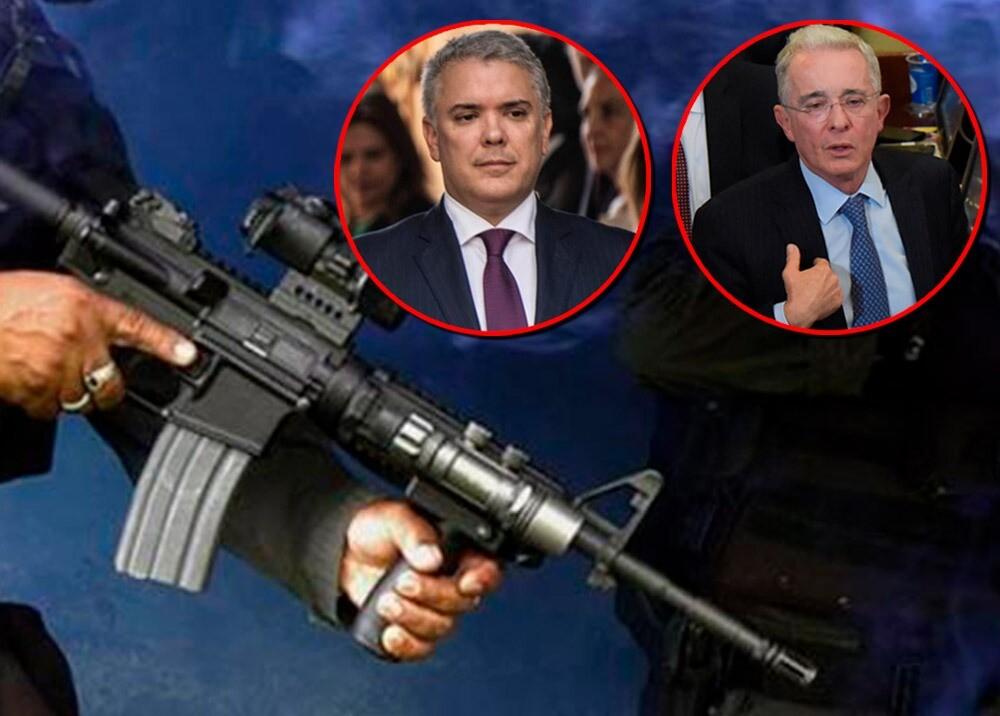 366127_Uribe dice que Duque le advirtió de posible atentado de disidencias // Fotos: AFP