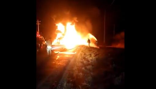 Incendio en Nuevo León - México