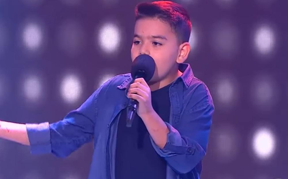 Juan Pablo, pequeño talento de La Voz Kids
