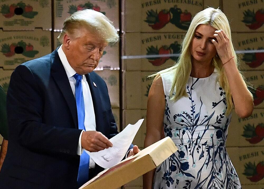 Donald Trump y su hija, Ivanka