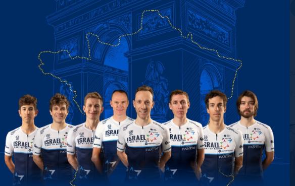 Chris Froome hace parte de la nómina del Israel Start-Up Nation para el Tour de Francia.