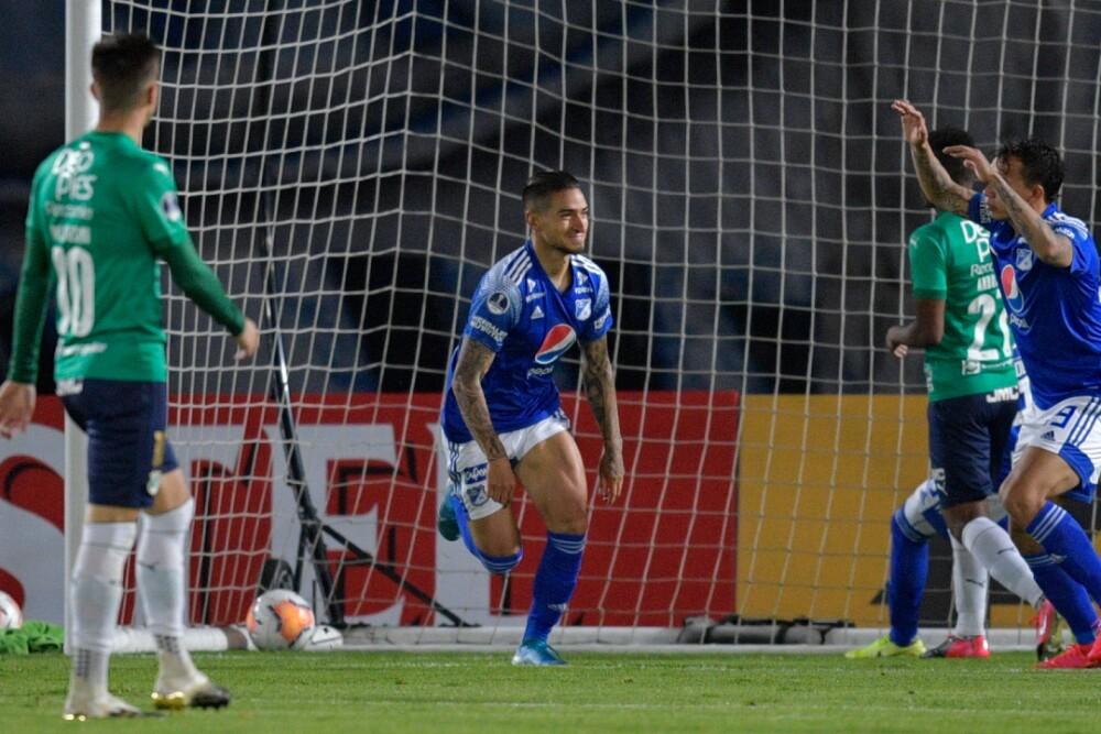 Cristian Arango Millonarios 281020 AFP E.jpg
