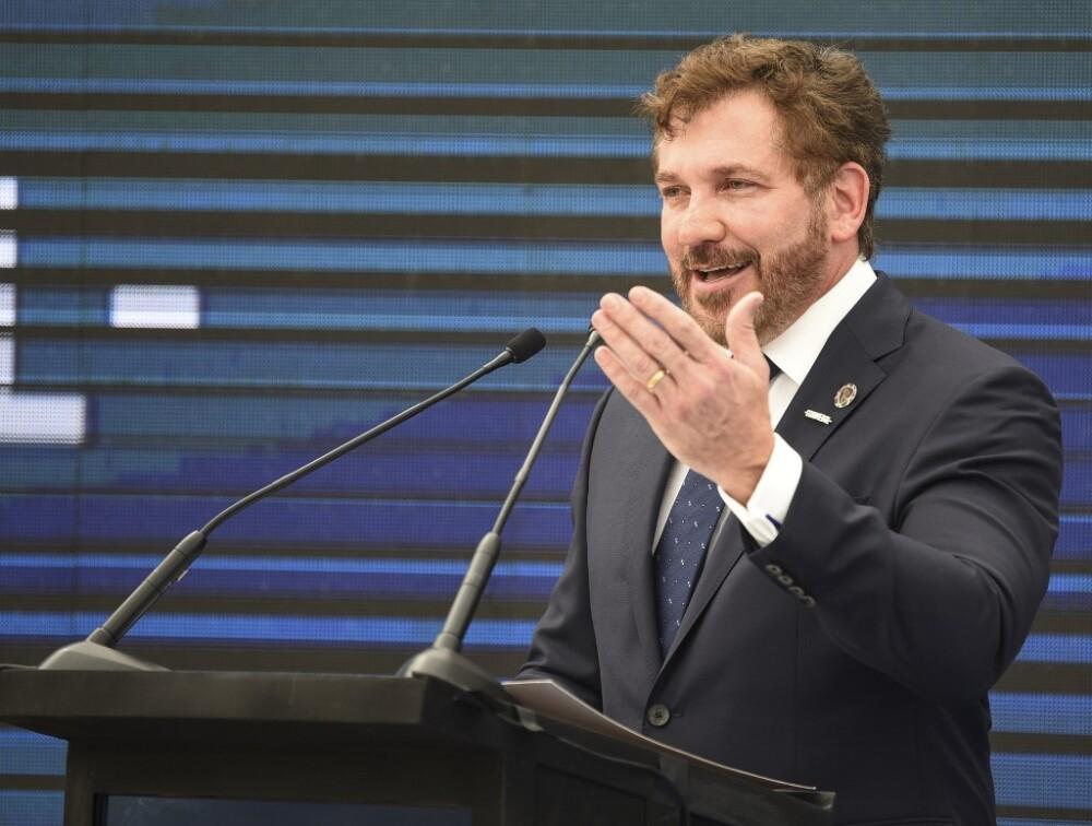 Presidente de la Conmebol, Alejandro Domínguez