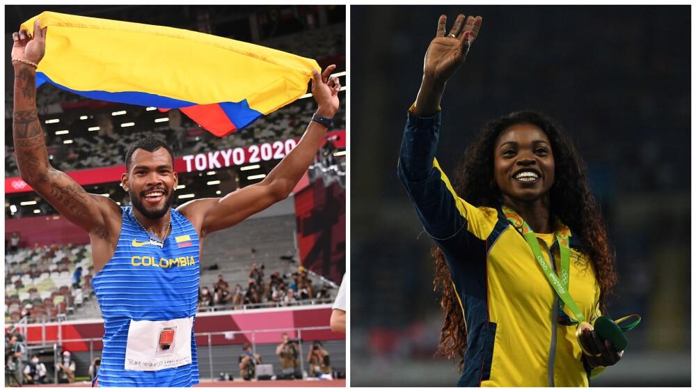 Medallas de Colombia en la historia del atletismo de los Juegos Olímpicos