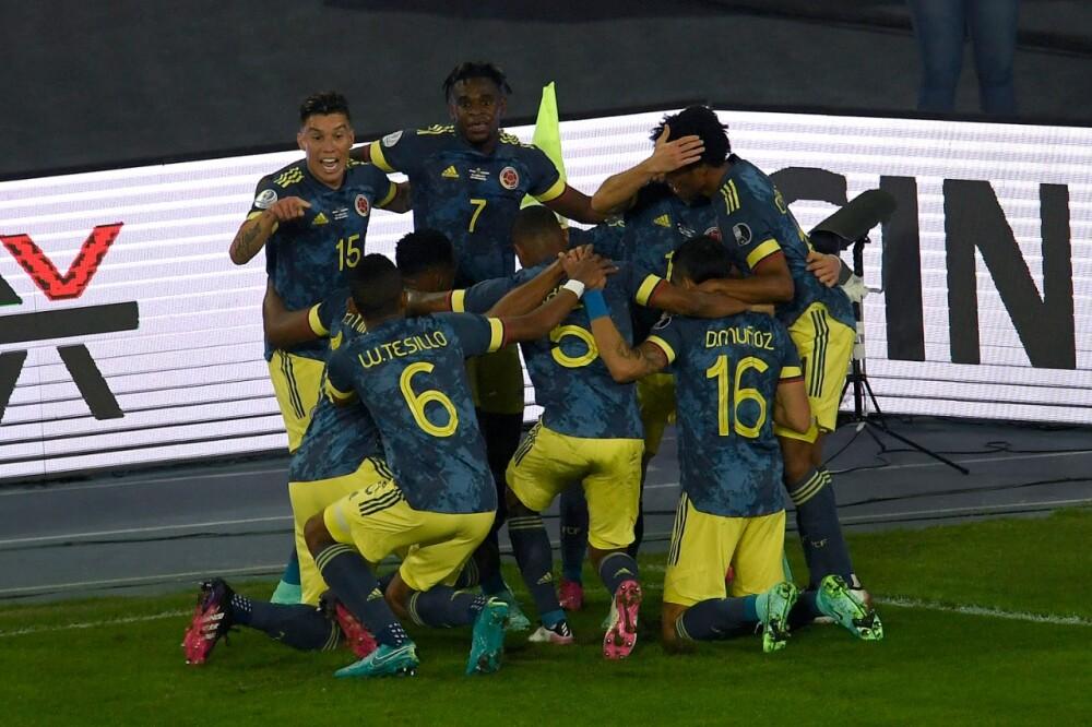 Selección Colombia aFP Brasil.
