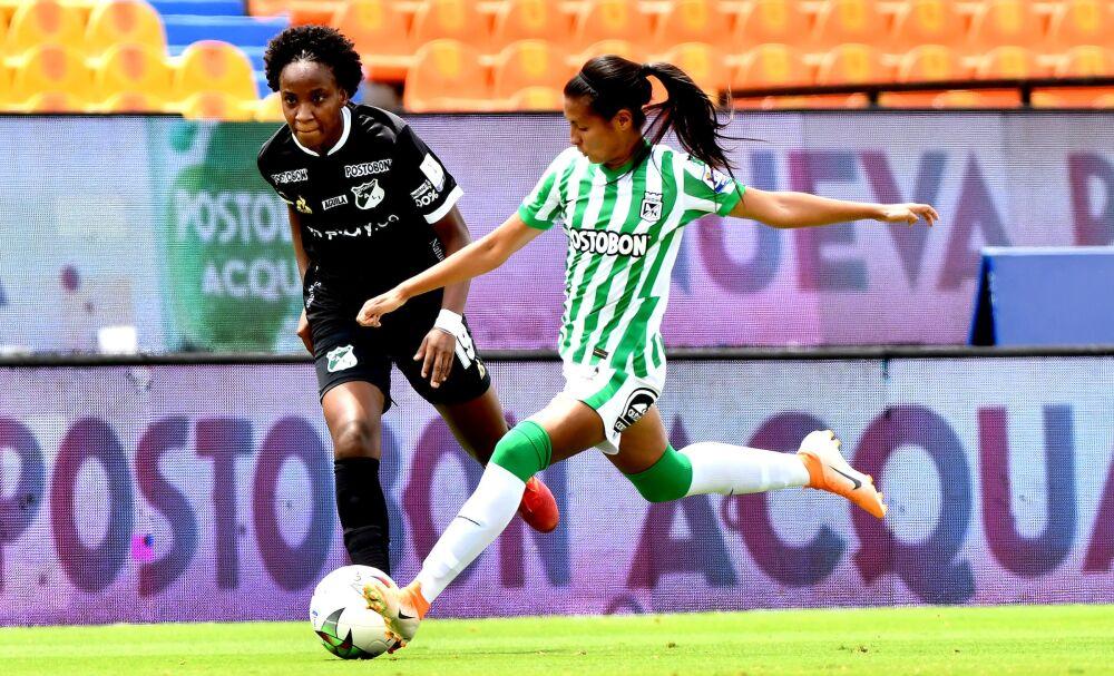 Atlético Nacional y Deportivo Cali, por la Liga Femenina. Dimayor.jpeg