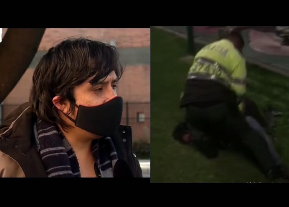 25108_Policía señalado de matar a Javier Ordóñez ya había sido denunciado por abuso de autoridad - Fotocaptura YouTube